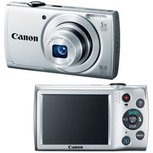 PowerShot A2500 16 Megapixel Digital Camera (Silver)