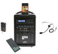PA419M iPod Wireless Portable PA System