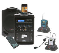 PA419WS iPod Wireless Portable PA System