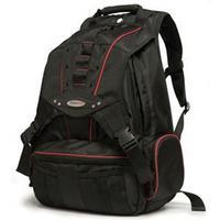 "17.3"" Premium Laptop Backpack (Black/Red)"