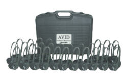 AE-711 Classroom Pack with Carrying Case (30 Pack) (Black)