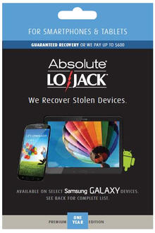 LoJack for Mobile Premium for Android Smartphones and Tablets 1 Year (Academic)