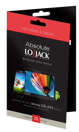 LoJack for Mobile Standard for Android Smartphones and Tablets 1 Year (Academic)