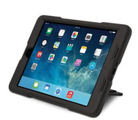 BlackBelt 2nd Degree Rugged Case for iPad Air (Black)