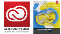 Creative Cloud Student and Teacher Edition with Classroom in a Book's Digital Video with Adobe Creative Cloud (One Year Subscription)