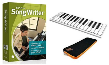 Finale SongWriter/Xkey Bundle