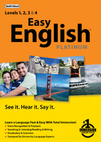 Easy English Platinum (Electronic Software Delivery)