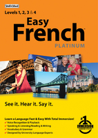 Easy French Platinum (Electronic Software Delivery)