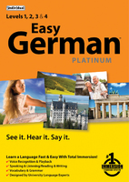 Easy German Platinum (Electronic Software Delivery)