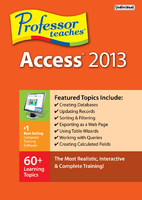 Professor Teaches Access 2013 (Electronic Software Delivery)