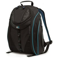 "17"" SUMO Express Laptop Backpack (Black/Teal)"