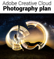 Creative Cloud Photography Plan (Includes Photoshop CC and Lightroom CC - One Year Subscription)