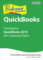 Professor Teaches Quickbooks 2015