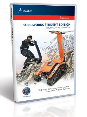 SolidWorks Student Edition 2015-2016 (12 Month License)