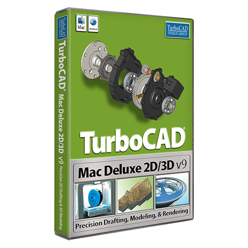 TurboCAD Mac Deluxe 2D/3D v9 (Electronic Software Delivery)