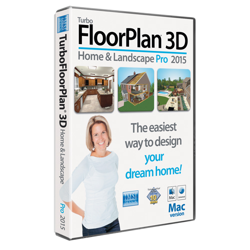 TurboFLOORPLAN Pro v2015 Mac (Electronic Software Delivery)