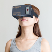 3D Virtual Reality Glasses for Smartphones