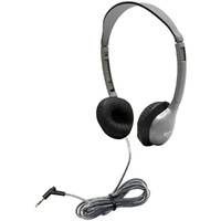 SchoolMate Personal Stereo Headphone with Leatherette Cushions