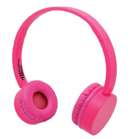 Pink KidzPhonze Headset with In-Line Microphone (Pink)