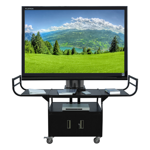 "Metal Cart - Holds Up to 80"" Flat Panel TV"