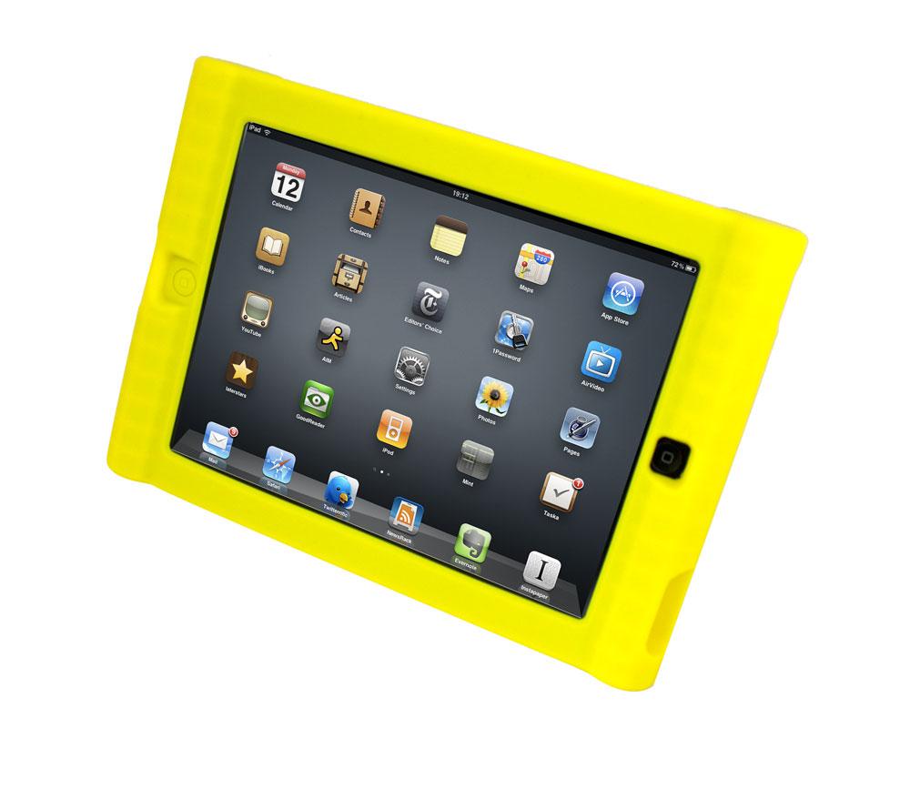 Kids Yellow iPad Protective Case