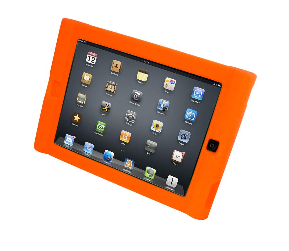 Kids Orange iPad Mini 2, 3 & 4 Protective Case