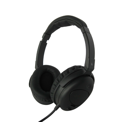 Noise-Cancelling Headphones with Case