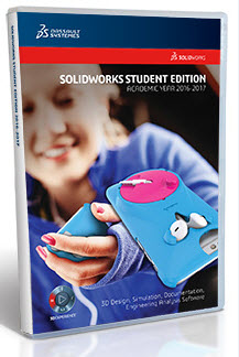 SolidWorks Student Edition 2016-2017 (12 Month License)