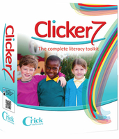 Upgrade to Clicker 7  (Unlimited OneSchool license)(Serial Number Required)