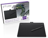 Intuos 3D Creative Pen & Touch Tablet (Black)