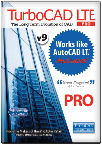 TurboCAD LTE Pro v9  (Electronic Software Delivery)