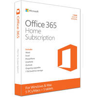 Office 365 - Home (1-year Subscription - Product Key Card)