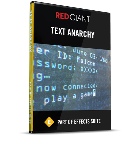 Text Anarchy (Electronic Software Download)