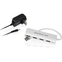 4PORT USB 3.0 ALUMINUM HUB USB