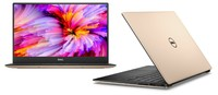 """Dell XPS 13 MLK (9360) 13.3"""" QHD+ 3200x1800 infinity """"touch"""" Intel Core i-7 7500U 4M cache up to 3.5 GHz (ROSE GOLD)"""