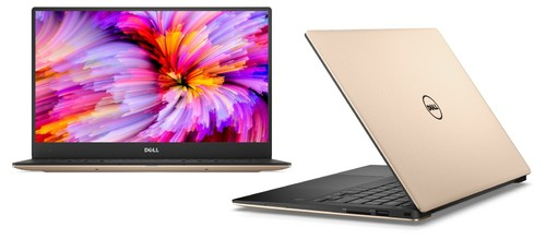 "Dell XPS 13 MLK (9360) 13.3"" QHD+ 3200x1800 infinity ""touch"" Intel Core i-7 7500U 4M cache up to 3.5 GHz (ROSE GOLD)"