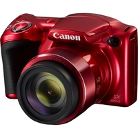 PowerShot SX420 HS 20MP Red