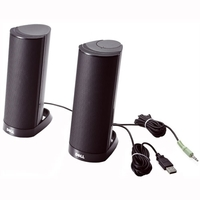 AX210 2 SPEAKERS BLACK 1.2W USB