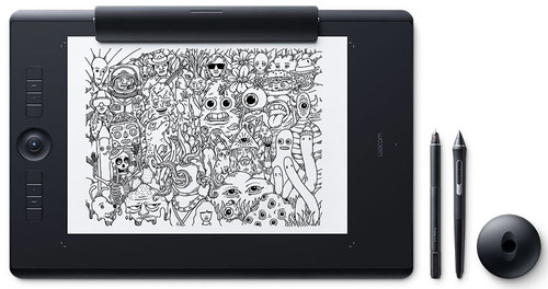Intuos Pro Pen & Touch Tablet Paper Edition - Medium