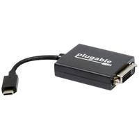 PLUGABLE USB-C TO DVI ADAPTER
