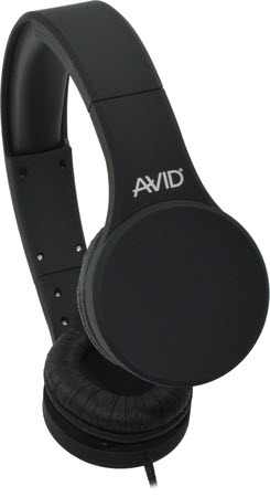 AE-42 Stereo Headset with Inline MIC / Gray, 32 Ohm