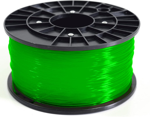 1Kg Spool PLA Filament (Transparent Green)