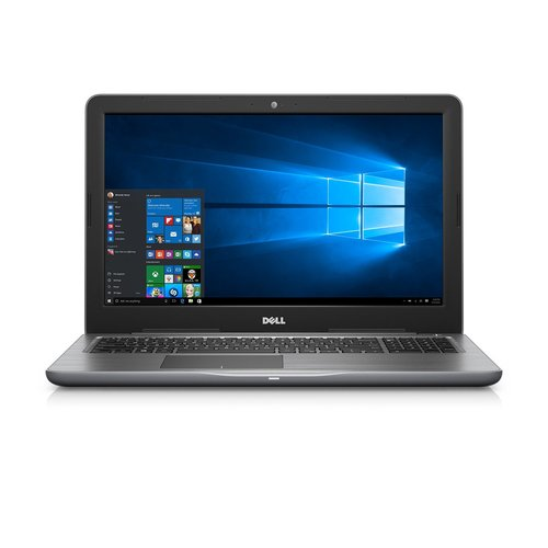"Dell Inspiron 5000 15.6"" FHD LED; i-7 7500U 4M cache up to 3.5 GHz; 8GB DDR4 2400MHz; 1 TB 5400 RPM SATA; tray load DVD R/W DVD/CD; Grey"
