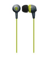 Skullcandy Jib Gray/Hot Lime | In Ear Headphones