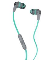 Skullcandy - Ink'd 2 In-Ear Headphones - Gray, Mint