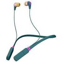 Skullcandy Ink'd 2.0 Bluetooth Earbud Headphones Pine/Pink