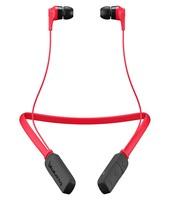 Skullcandy Ink'd 2.0 Bluetooth Earbud Headphones Red/Black