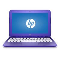 "HP Stream 14-ax000 14-ax020nr 14"" Notebook - Intel Celeron N3060 Dual-core (2 Core) 1.60 GHz - 4 GB DDR3L SDRAM - 32 GB Flash Memory - 1366 x 768 - BrightView - Purple"