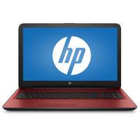 "HP 15-ba000 15-ba082nr 15.6"" Touchscreen Notebook - AMD A-Series A8-7410 Quad-core (4 Core) 2.20 GHz - 4 GB - 1 TB HDD - Windows 10 Home - Red"