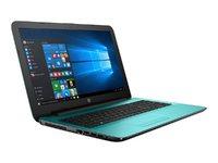 """HP 15-ba000 15-ba083nr 15.6"""" Touchscreen Notebook - AMD A-Series A8-7410 Quad-core (4 Core) 2.20 GHz - 4 GB - 1 TB HDD - Windows 10 Home - Teal"""